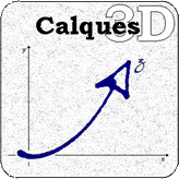 Calques 3D Logo
